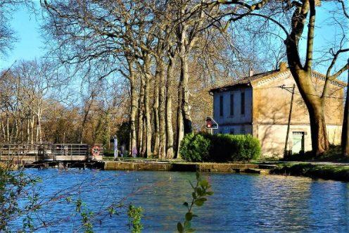 gite, canal du Midi, canal des 2 mers, hebergement, maison eclusière