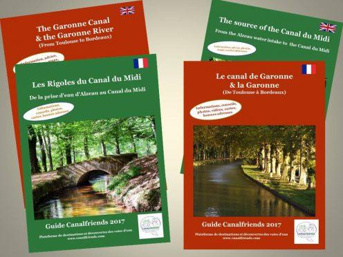 guides de voyage; canal de Garonne; canal du Midi; Garonne; navigation; location bateau sans permis; vélo; oenotourisme