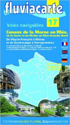 luvialcarte canaux de la Marne au Rhin
