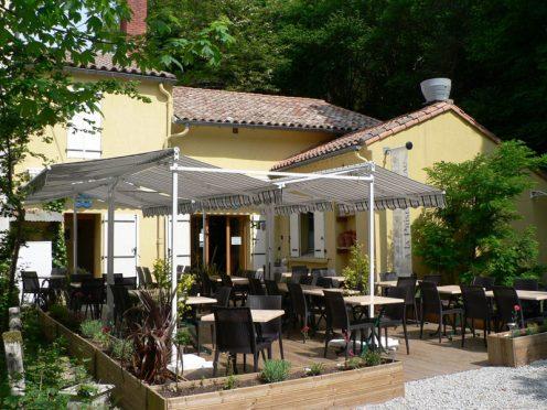 Restaurant la prise d'eau Alzeau canaldriends rigole canal du midi