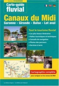 Canalfriends Waterways Bookshop, Canaux du Midi Carto Guide fluvia