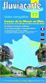 Fluvialcarte canaux de la Marne au Rhin