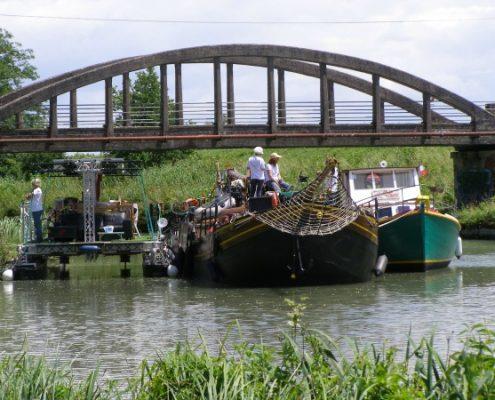 Canalfriends sur le canal de Garonne