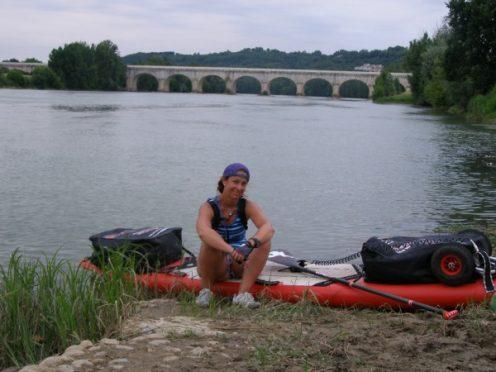 canalfriends ingrid ulrich sup paddle Med'Ocean Port la nouvelle Royan canal du Midi Garonne Gironde pont canal agen