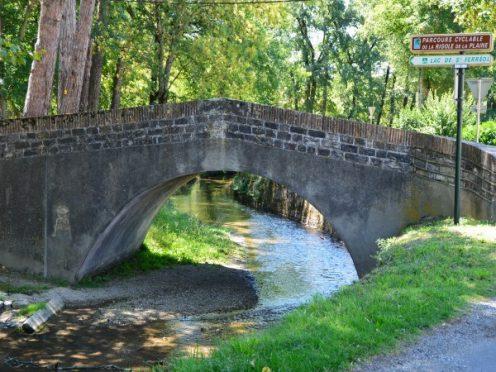 Rigole de la plaine Canal du Midi Canalfriends Andre Authier