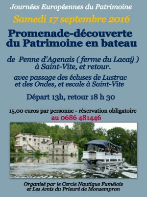 journees europeennes patrimoine canalfriends lot penne d'agenais saint vite