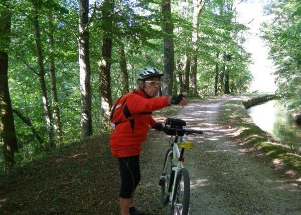Rigole de la Montagne noire Canal du Midi randonnée vélo Canalfriends