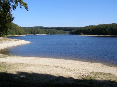 Lac du Lampy rigole de la Montagne Noire Canal du Midi randonnée Canalfriends