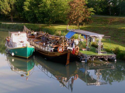 bateau elisabeth, canal de garonne
