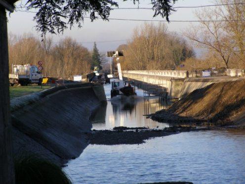travaux canal garonne agen canalfriends