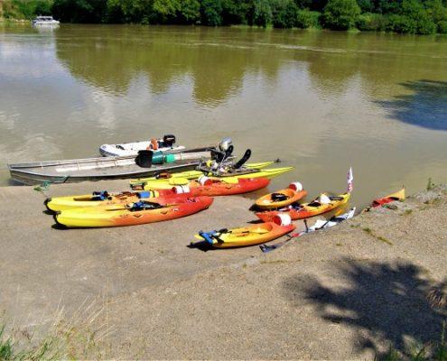 6 jours de Garonne Canalfriends couthures sur garonne