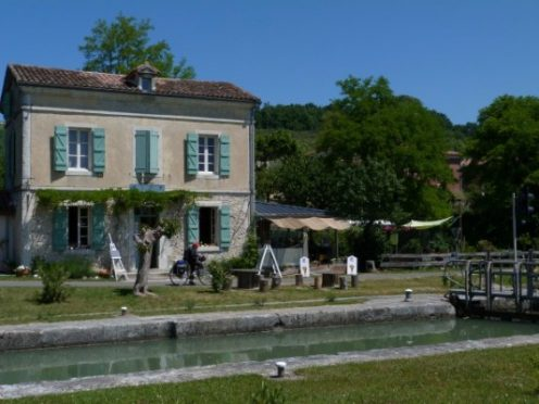 Bed and Breakfast, Canal du midi, garonne, canalfriends.com