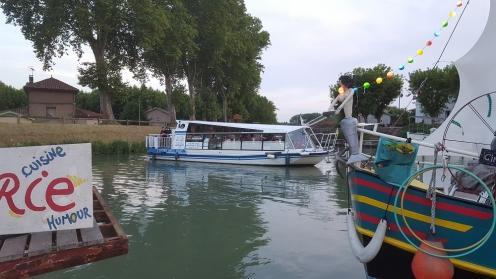 bateau promenade; moissac; tarn; canal de garonne