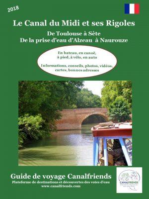 guide Canalfriends canal du midi et rigoles
