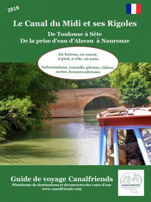 guide de voyage, canal du midi