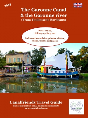 canal de garonne, cycling, boat, accommodation