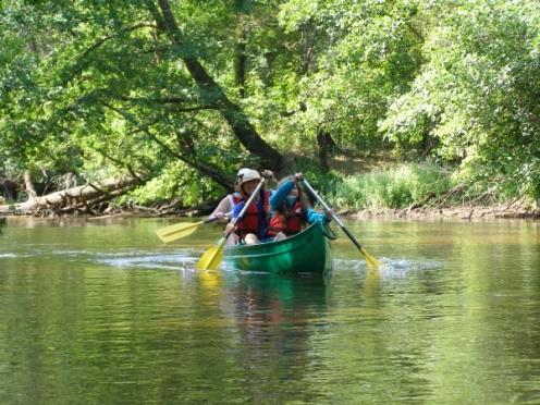 canoe; riviere