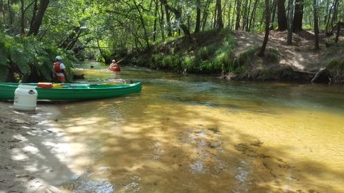 canoe; leyre; eyre
