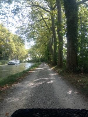 thierry Goix; canal du Midi; canalfriends; eau defis; pmr