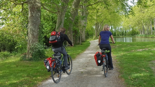 canal du midi; cycling; bike; velo