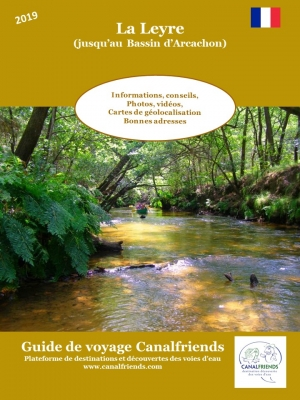 guide canalfriends La Leyre au bassin d'archachon
