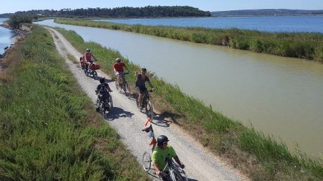 canal de la robine; cyclotourisme; PMR Friendly
