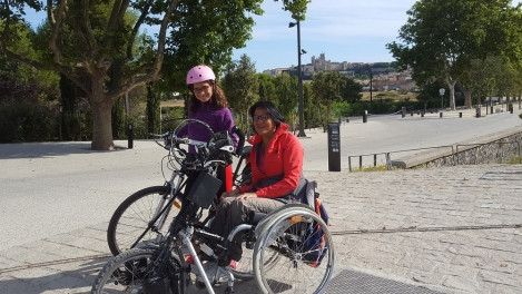 beziers; fonseranes; pmr friendly