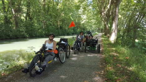 handicap; PMR Friendly; canal de garonne