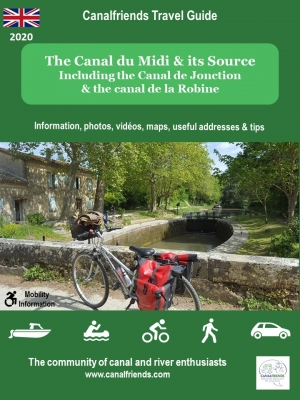 canal du Midi;; riquet; velo; bike; cycling; accommodation; guide