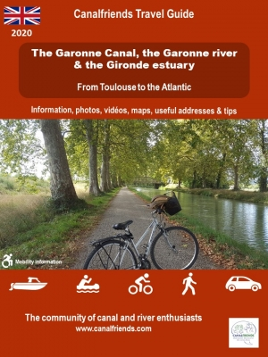 canal de Garonne; cycling; bike; accommodation; cruise; rental boat; bordeaux; unesco; toulouse; atlantic coast
