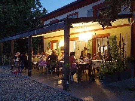restaurant, canal du Midi, canal de garonne