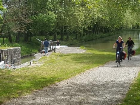 Bike Hire; canal du Midi; canal de Garonne
